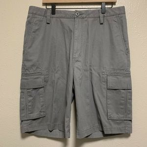 DOCKERS Flat Front Relaxed Fit Cargo Shorts